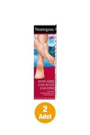 Neutrogena Formülü Nasırlaşmış Ayaklar İçin Ayak Kremi 50 ml x 2