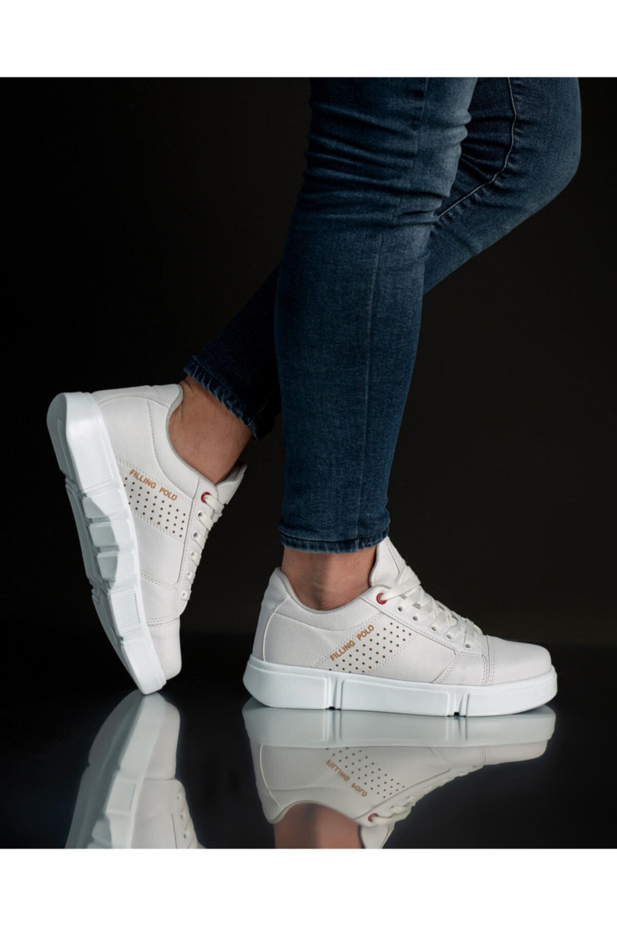 FREE MARKA Beyaz Günlük Ayakkabı 1
