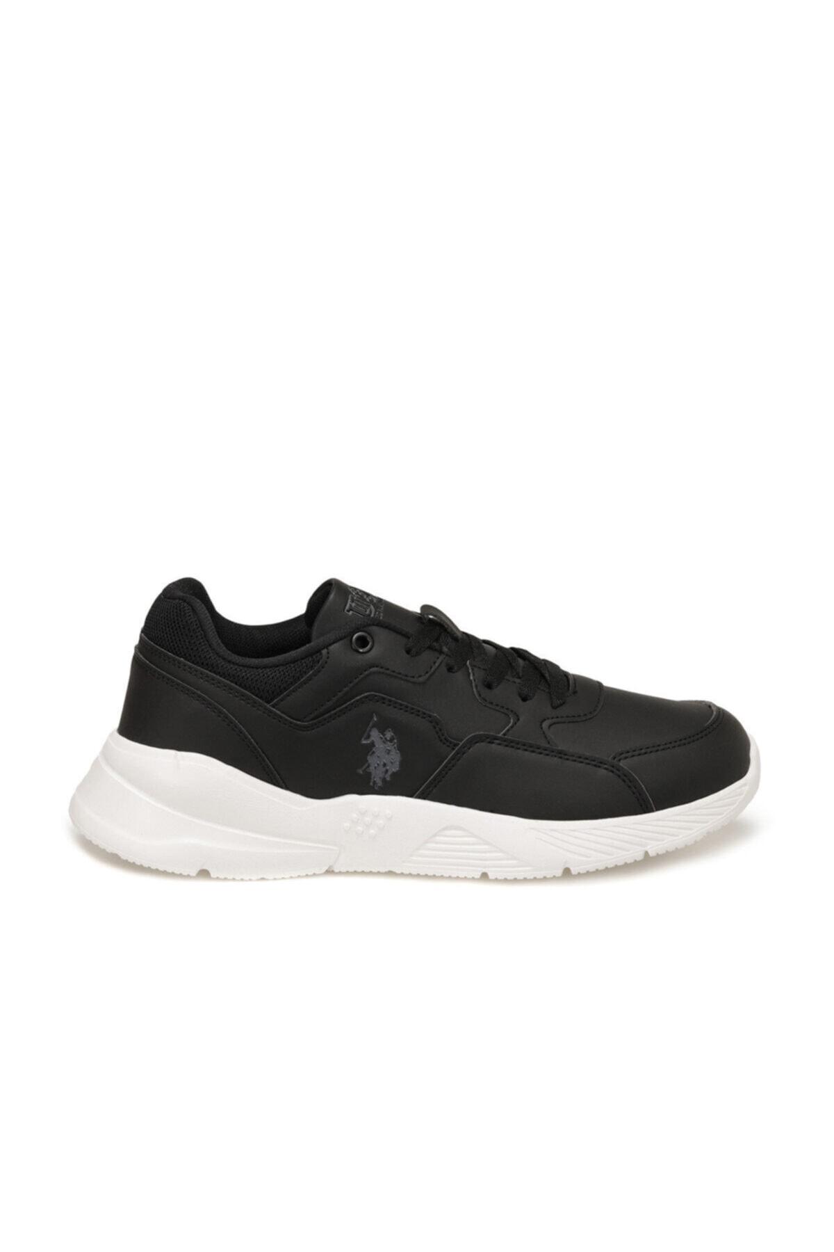 U.S. Polo Assn. FELIX Siyah Erkek Sneaker Ayakkabı 100536523 2