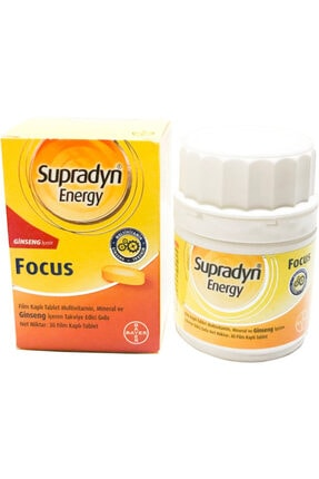 Supradyn Energy Focus 30 Tablet Skt:02/2021