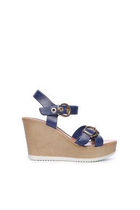 KEMAL TANCA Kadın Derı Sandalet Sandalet 169 6511 Bn Sndlt