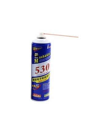 MECHANIC 530 Yağsız Kontak Sprey Oksit Ekran Temizlik Spreyi 550 ml