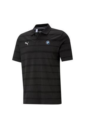 Puma Bmw Erkek Polo Yaka Tişört - Siyah