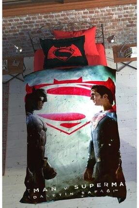 Özdilek Batman V Superman Dark Lisanslı Nevresim Takımı Tek Kişilik