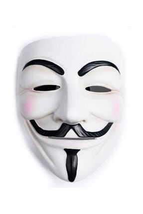 Pandoli Plastik V For Vendetta Maskesi