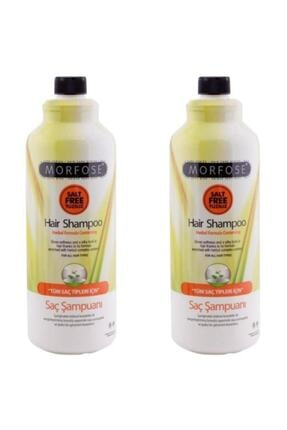 Morfose Bitkisel Tuzsuz Şampuan 1000 ml X 2 Adet