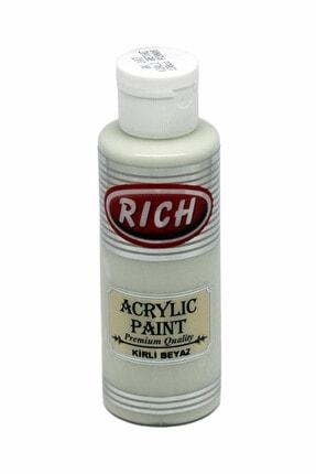 Rich 130ml Akrilik Boya No:103 Kirli Beyaz