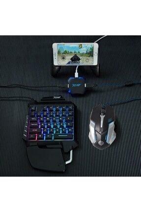 K SNAKE F6 Pubg Oyun Konsolu 3in1-klavye Mouse Bağlayıcı 3 Lü Set Mükemmel Kontrol Pubg Anlaşmalı