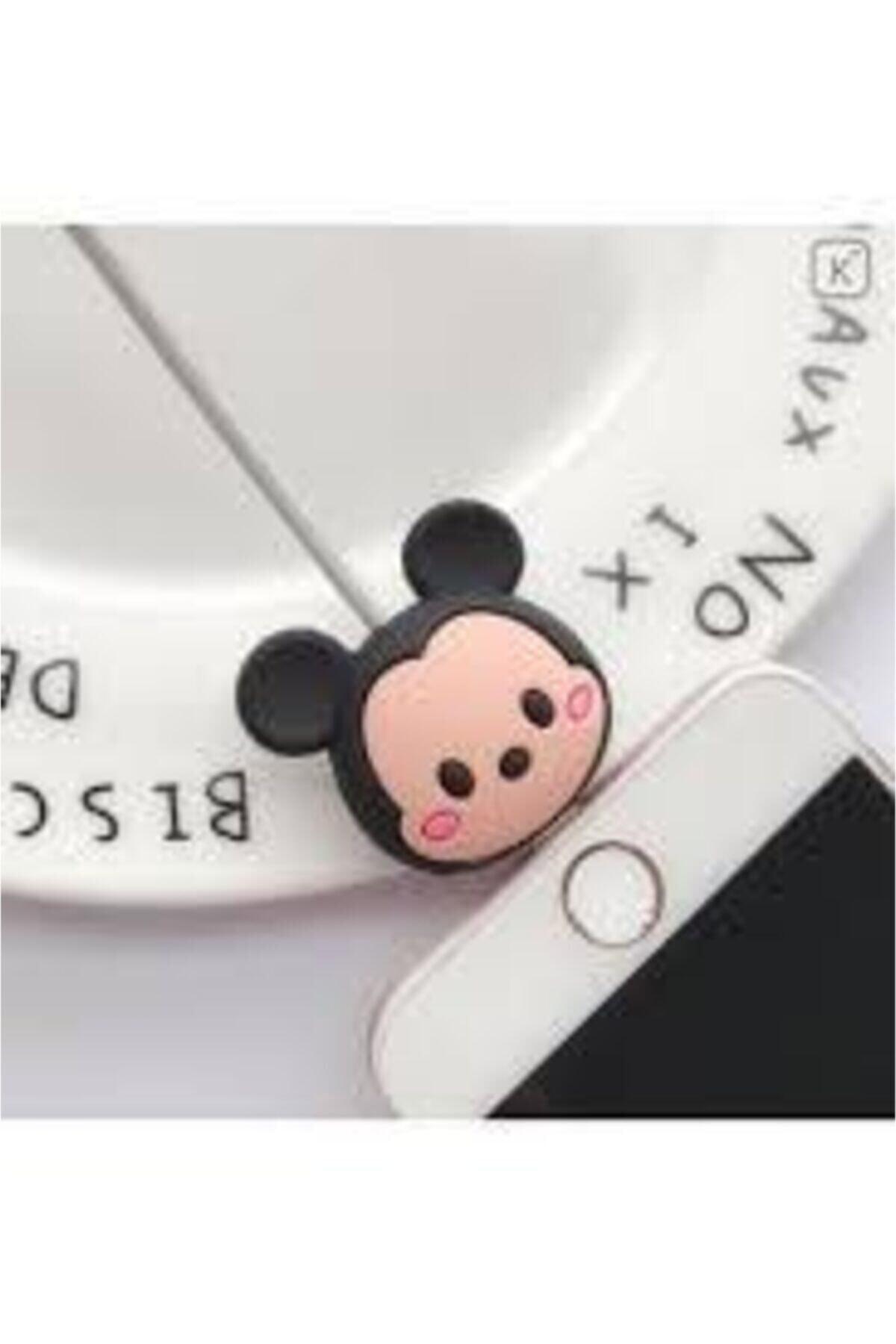 Mickey Mouse My Mürdüm Sevimli Silikon Kablo Koruyucu Mickey Syamgzskk17 1