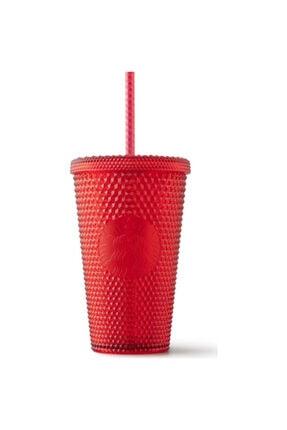 Starbucks Kırmızı Pipetli Diva Bardak