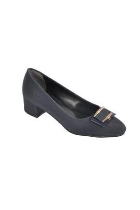 Maje 6032 Lacivert Kadın Topuklu Ayakkabı