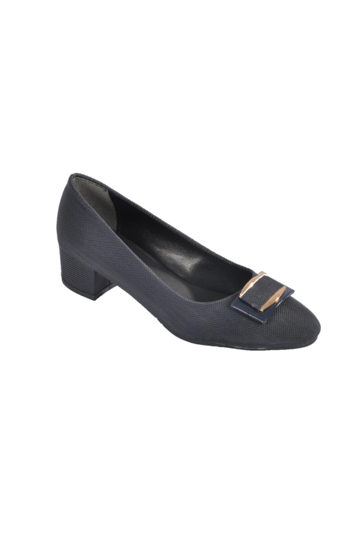 Maje Kadın Lacivert  Topuklu Ayakkabı 6032 1