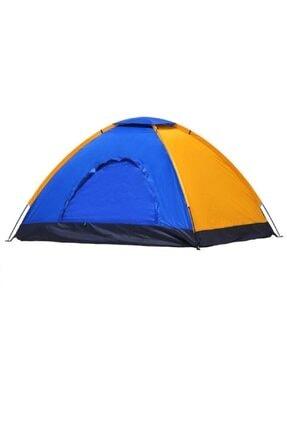 DToutdoor Kolay Kurulumlu Kamp Çadırı 12 Kişilik Kapı Sineklikli Çantalı