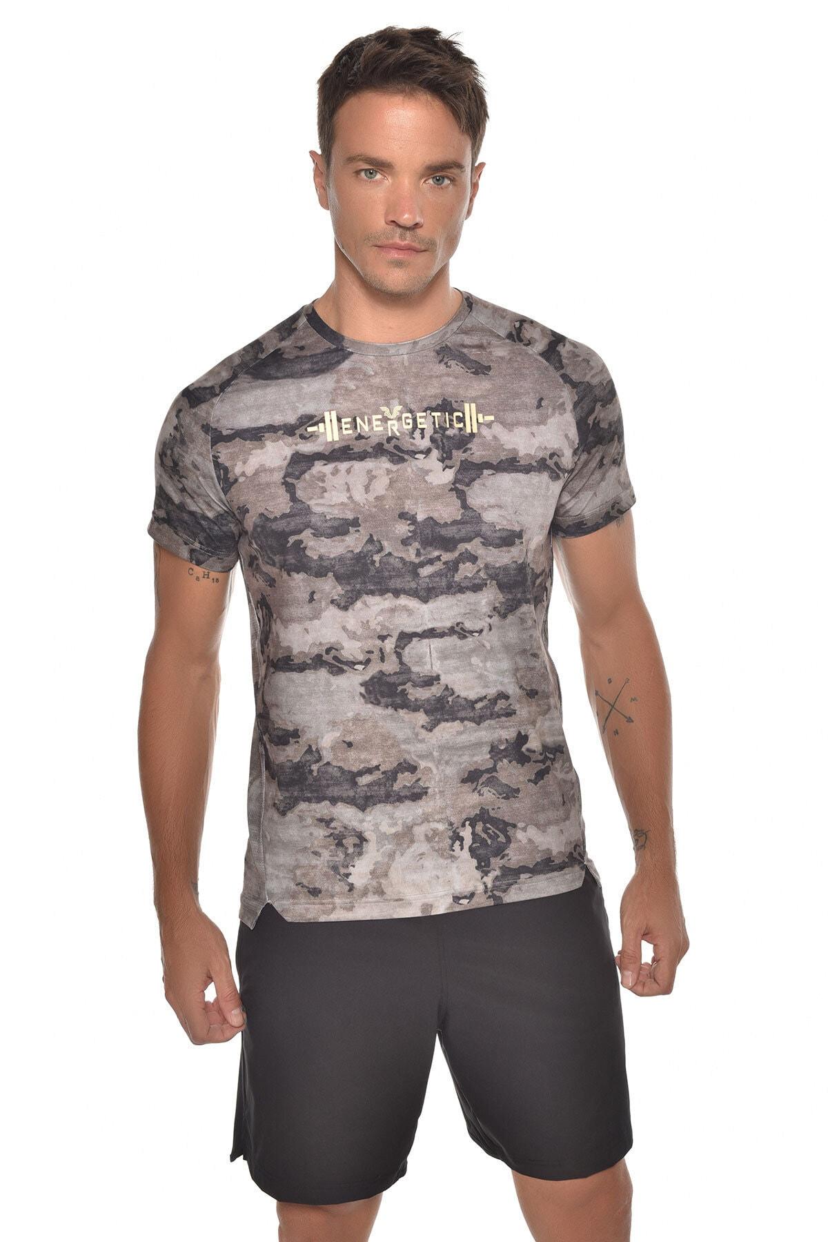 bilcee Kamuflaj Erkek Kısa Kol T-shirt Gw-9231 1