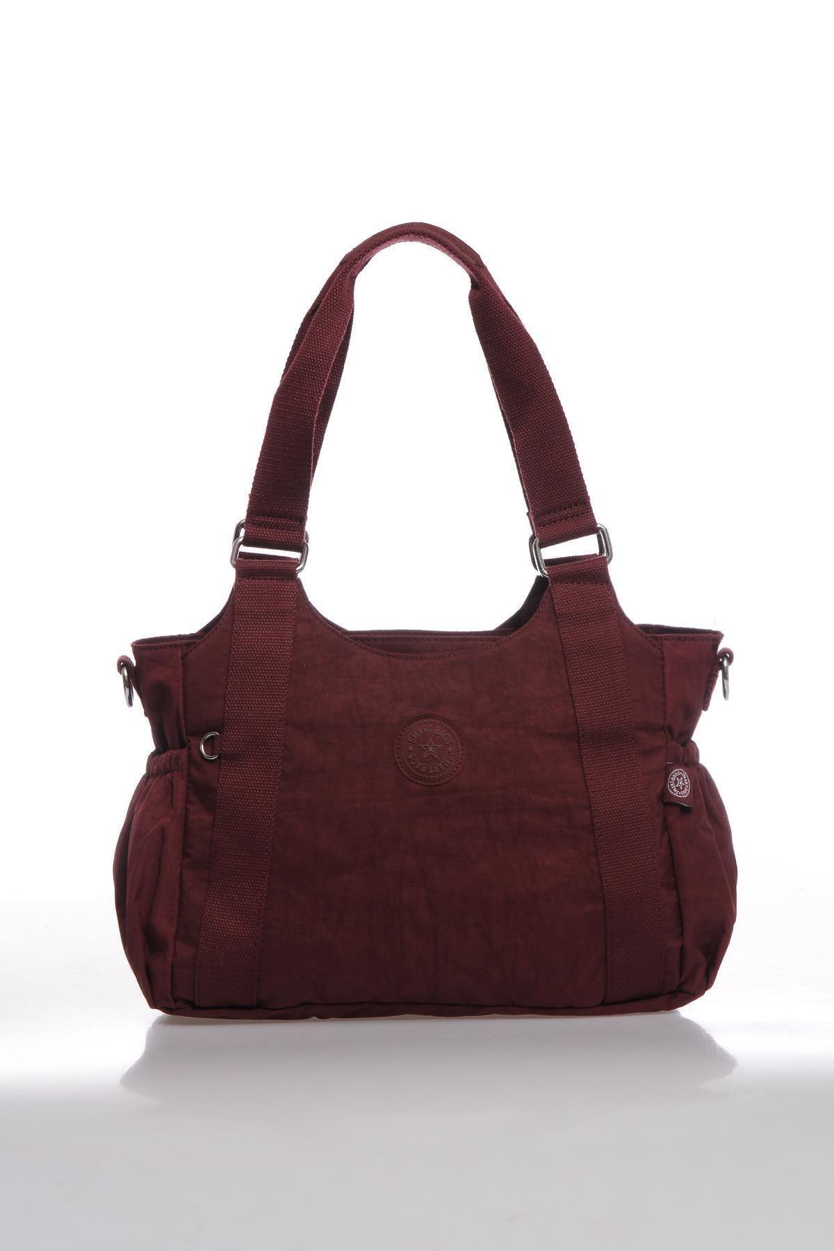SMART BAGS Smbk1163-0021 Bordo Kadın Omuz Çantası 1