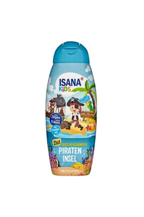 Isana Kids Pirateninsel 2'in1 Şampuan Ve Duş Jeli 300 Ml