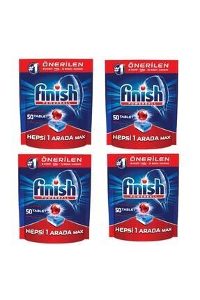 Finish Bulaşık Makinesi Tableti 50 Li *4 Paket