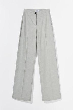 Bershka Kadın Gri Wide Leg Pantolon 00105168