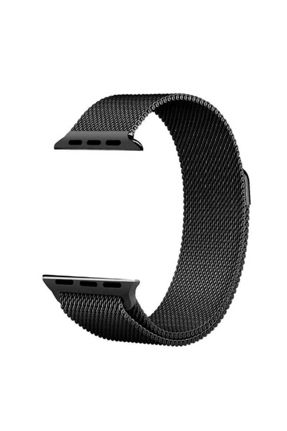 zore Apple Watch 40mm Krd-01 Metal Kordon Siyah 1