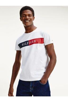 Tommy Hilfiger Block Logo Erkek Tshirt