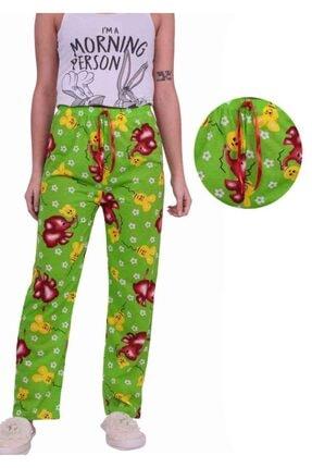 mozsoo Fil Desenli Kadın Pijama Altı | Yeşil