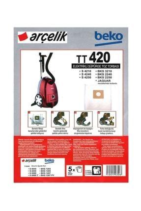 Arçelik S 4240 Elektrikli Süpürge Torbası (20 Adet)
