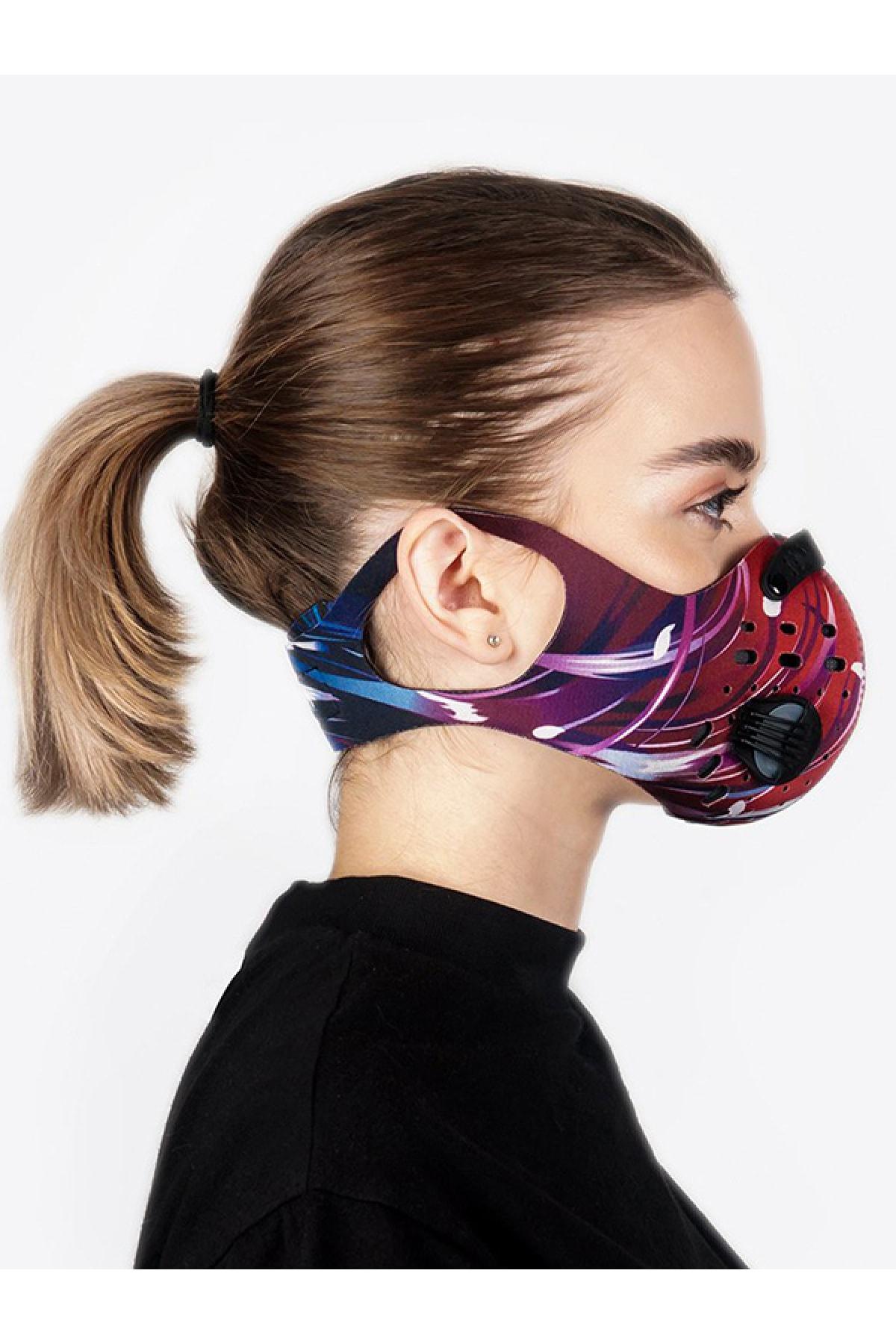 CHUM Kadın Lightspeed Aktif Karbon Filtreli Outdoor Maske 1