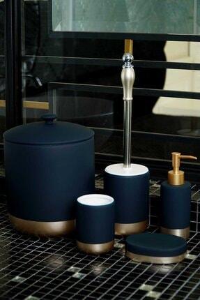 AROW Lagulın 5 Parça Çöp Kovalı Banyo Takımı Seti