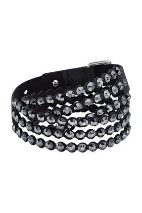 Swarovski Bilezik Impulsep:bracelet Slake Jet Hem/oth M 5512512
