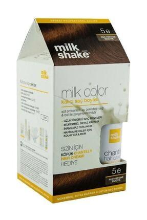 Milkshake Saç Boyası Açık Kestane Egzotik - 5e Köpük 8681127022094
