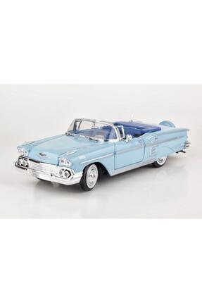 Motor Max Diecast 1958 Chevy Impala 1/24 Die Cast Model Araç