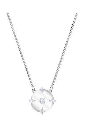 Swarovski Kolye North:Necklace Glass Czwh/Rhs 5497232