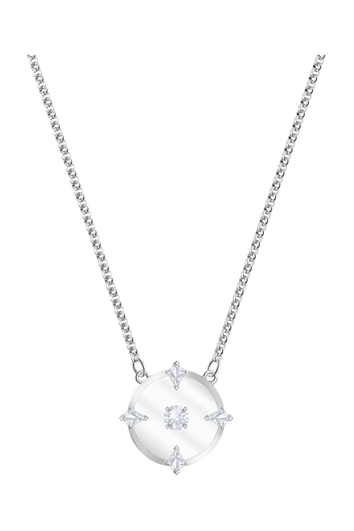 Swarovski Kolye North:Necklace Glass Czwh/Rhs 5497232 1