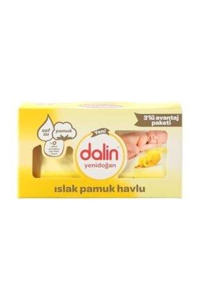 Dalin Yenidoğan 3'lü Islak Havlu 3*40 Adet