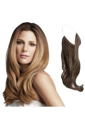 General Home Beauty Dreams Pratik Misinalı Yarım Ay Postiş - Sihirli Saçlar (Açık Sarı)