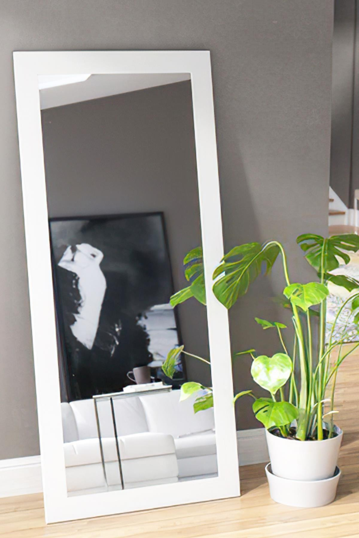 LYN HOME & DECOR Lyn Dekoratif Retro Boy Aynası 104x45 Cm 1