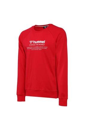 HUMMEL Numas Erkek Kırmızı Sweatshirt (921116-3331)