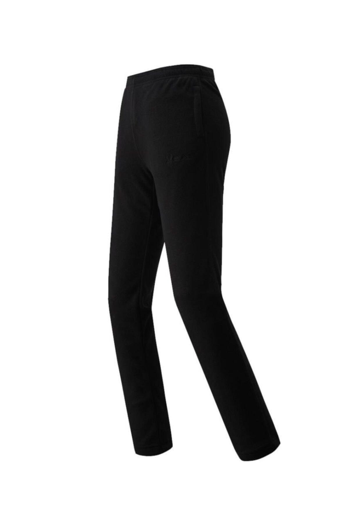 2AS Answer Fleece Kadın Polar Pantolon Siyah 1