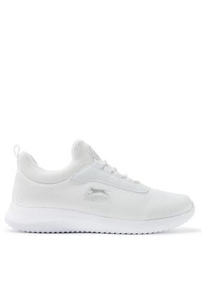 Slazenger ZAMORA Sneaker Kadın Ayakkabı Beyaz SA11RK014