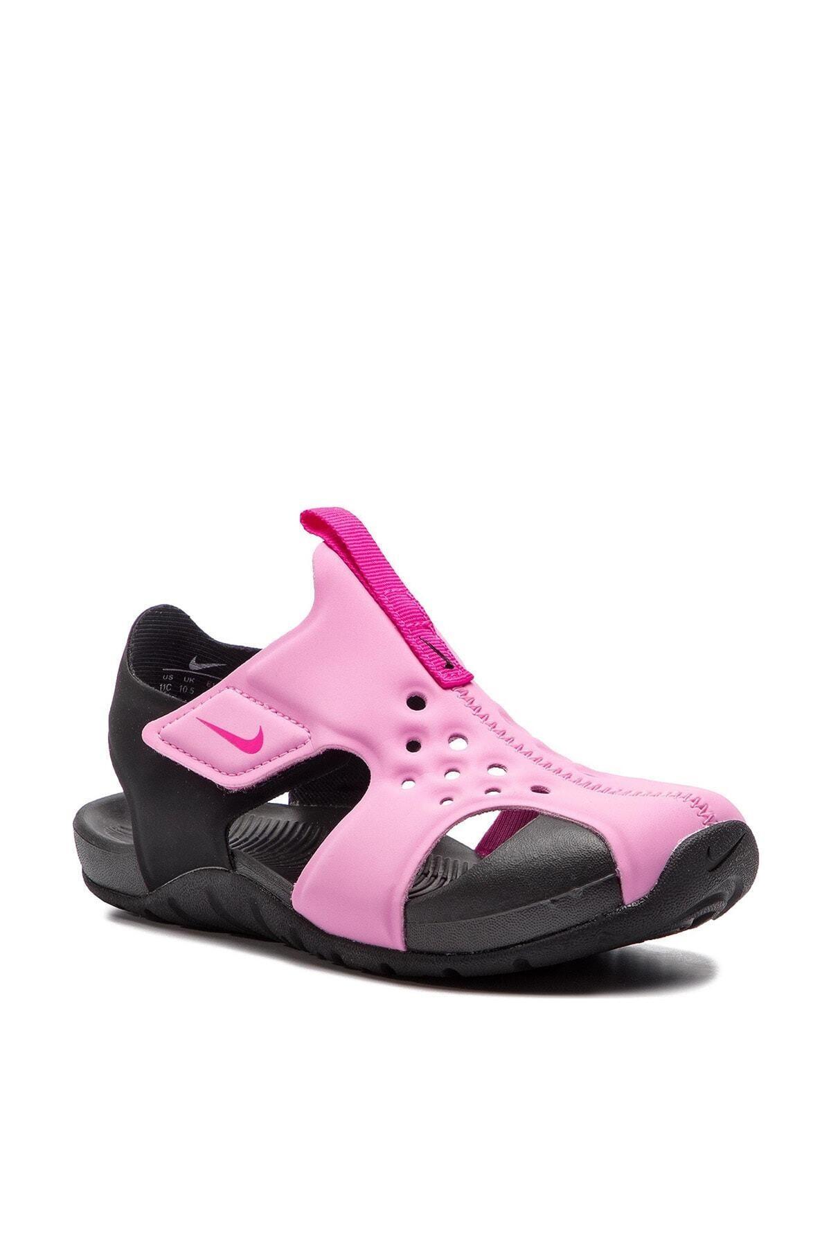 Nike Kids Pembe 943826-602 Sunray Protect Çocuk Sandalet 1