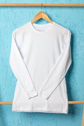 BSM Erkek Beyaz Strech Body 042004