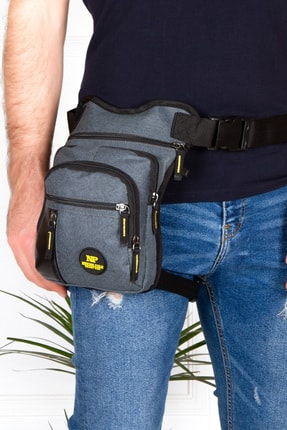 Leyl Bacak Çantası Moto Kurye Pos Cihazı Uyumlu Çanta