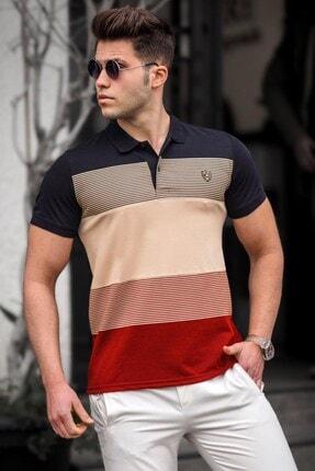 Madmext Erkek Polo Yaka T-shirt