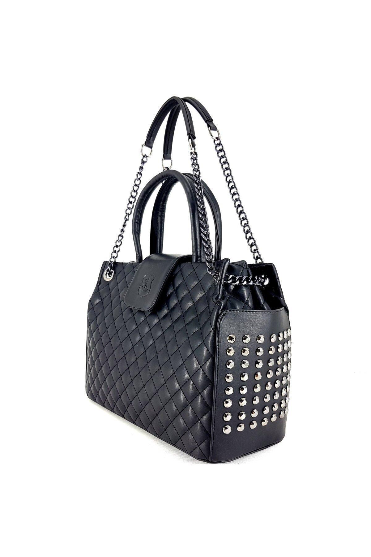 Ladystyle Kadın Siyah Omuz Çanta 1