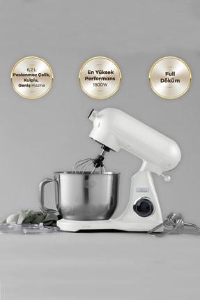 Karaca Powercast Chef Döküm Stand Mikser 1800w Mutfak Şefi Cream