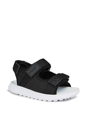 Vicco Bueno Unisex Genç Siyah Sandalet