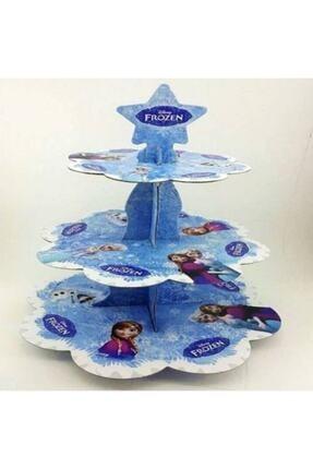 papercraft Kek Standı Cupcake  3 Katlı
