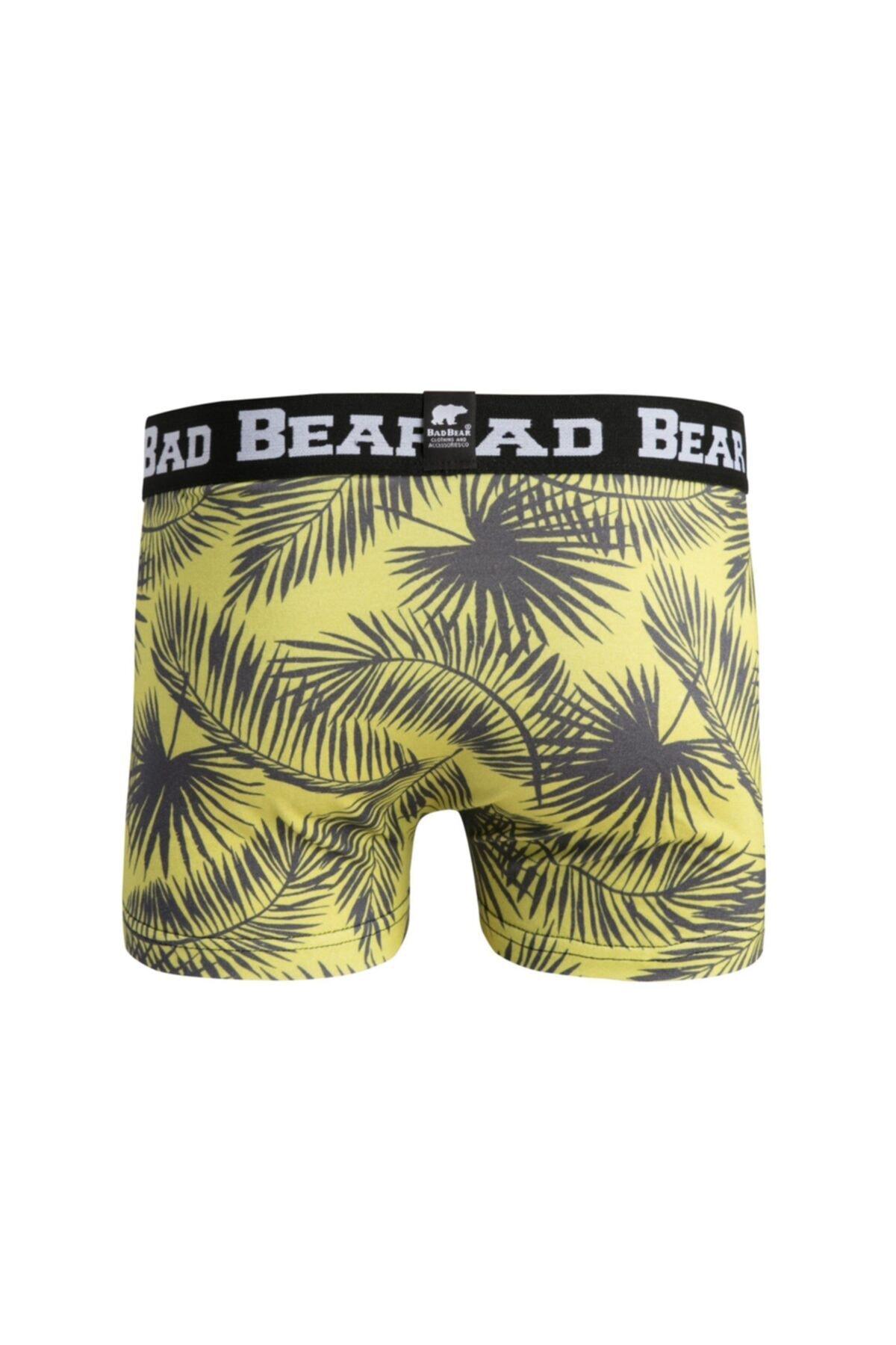 Bad Bear Erkek Sarı Boxer 18.01.03.011 3 2