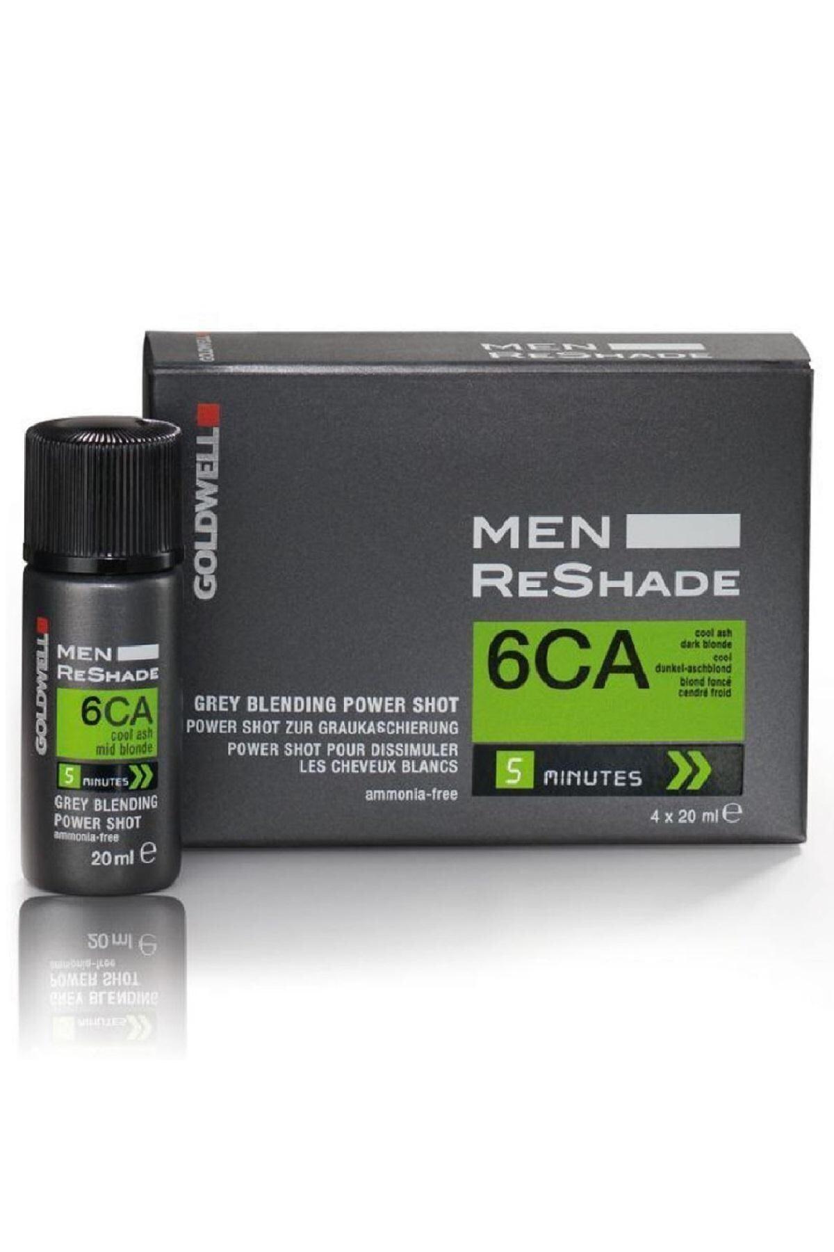 GOLDWELL 6ca Men Reshade Erkek Saç Boyası 4x20 ml 1