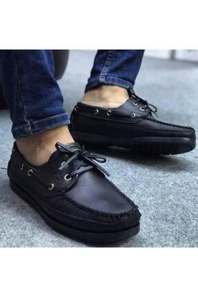 RodeoClass Erkek Siyah Hakiki Deri Klasik Ayakkabı